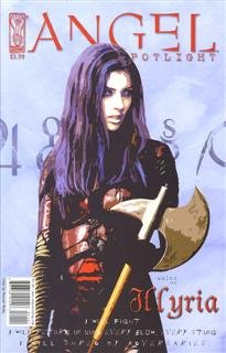 Angel Spotlight Illyria Comic Book One Shot Russell Walks Cover