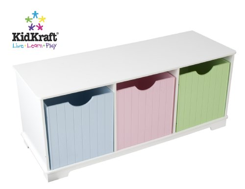 - KidKraft Nantucket Pastel Storage Bench