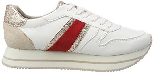 Tamaris Signore 23764 Sneaker Bianca (pettine Bianco)