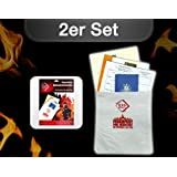 Set of 2: fireproof Documentary bags