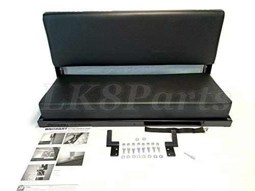 Proper Spec Land Rover Defender 90 D90 Rear Bench SEAT Black Vinyl 320737 New