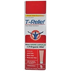 T-Relief Pain Relief Ointment 4 oz (Pack of 4)