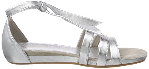 Unisa Women's Alardo_LMT Open Toe Sandals Silver (Silver Black) discount cheap online discount wiki original cheap price limited edition online factory outlet online bkZPmhw