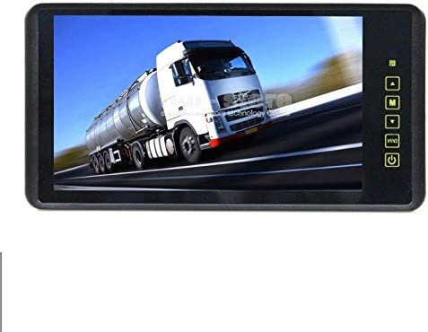 Ympa 23 Cm 9 Zoll Inch Tft Lcd Video Monitor Rückspiegel Innenspiegel Spiegel Für Rückfahrkamera Rückfahrsystem Auto Kfz Pkw Transporter Wohnmobil 12v Mit Zwei Videoeingängen Lcm Sp9 Auto