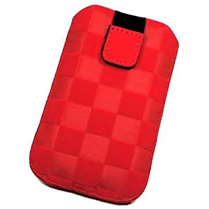 Duragadget-Funda de piel sintética para Nokia Lumia 520 piel sintética, talla XL