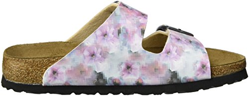 Papillio Arizona Birko-flor Softfootbed - Mules Mujer Mehrfarbig (Pixel Rose Soft)