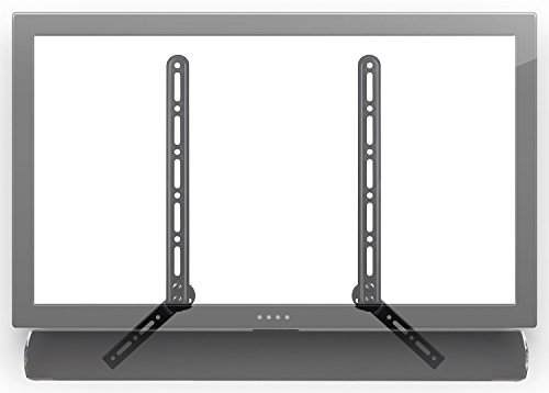 - Mount-It! Soundbar Bracket Universal Sound Bar TV Mount for Mounting Above or Under TV, Fits Sonos, Samsung, Sony, Vizio, Adjustable Arm Fits 23 to 65 Inch TVs, 33 Lbs Weight Capacity Black (MI-SB41)