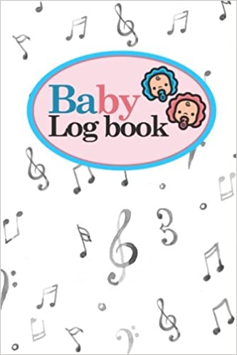 amazon com baby logbook baby activity log baby notebook tracker