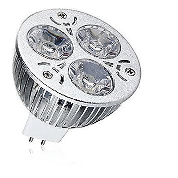 1pc 9w mr16 focos led cálido / fresco de color blanco luz de la lámpara del