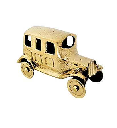 Buy Jewel Fuel Brass Vintage Car Showpiece (6 5x3x4) Online at Low