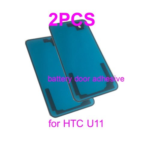 PHONSUN Battery Door Cover Adhesive Replacement HTC U11 Pack of 2 (Battery Door Htc)