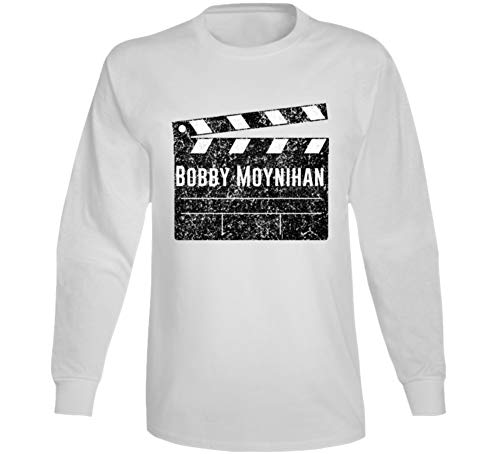 Bobby Moynihan Director Movie Parody Comedian Comedy Worn Look Cool Fan Long Sleeve T Shirt S White