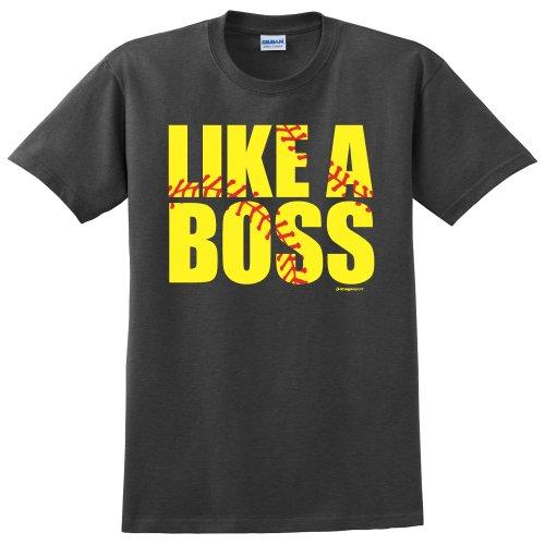 Softball Like a Boss T shirt product image
