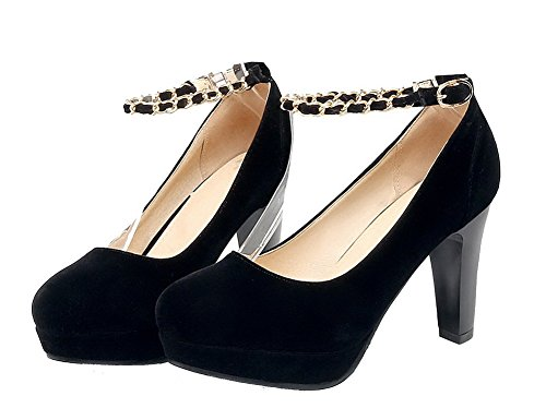 Boucle Unie Femme Couleur Ageemi Shoes BqwAUxYxtO