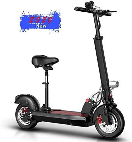 電動スクーター折りたたみスクーター最高速度40km / h、400Wモーター、10インチアンチスキッドタイヤおよびLCDスクリーン、長距離50KM、大人およびティーンエイジャー向け、140kg最大負荷