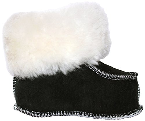 [Sheepskin Slippers Winter Boots for Infants / Toddlers SOFT Sole Kids Shoes HANDMADE Natural Baby Product (Size] (Halloween Decor Ideas 2016)