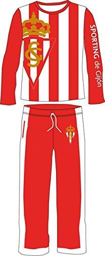 Pijama Sporting de Gijón (talla M)