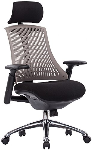 Flash Mesh Ergonomic Office Chair Grey Amazoncouk Office - Ergonomic office chair uk