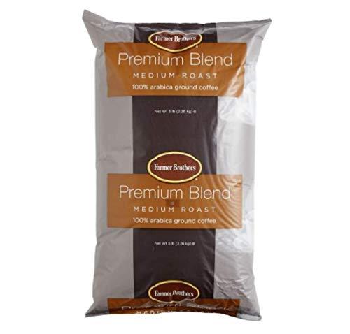 Farmer Brothers Ground Coffee - Medium Roast, 5 Lb. - Bros Coffee