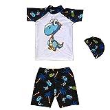 Little Boy Swimwear Sets,Jchen(TM) Baby Kids Little Boys Animal Print Beachwear Swimsuit Bathing Suit for 1-7 Y (Age: 4-5 Years, White)
