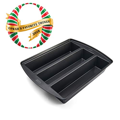 Chicago Metallic 26783 Professional Lasagna Trio Pan, 16-Inch-by-12.5-Inch, Silver
