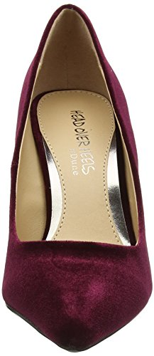 Red Closed Over Head Women's Heels Burgundy Alana Heels Toe 06nFqA