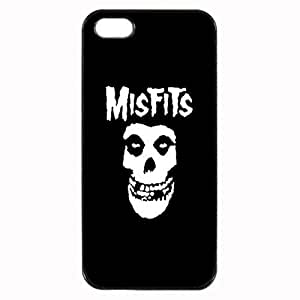 Misfits Unipue Custom Image Case iphone 5 case , iphone 5S case, Diy Durable Hard Case Cover for iPhone 5 5S , High Quality Plastic Case By Argelis-sky, Black Case New