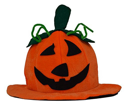 [Pumpkin Hat] (Hat Costumes For Adults)