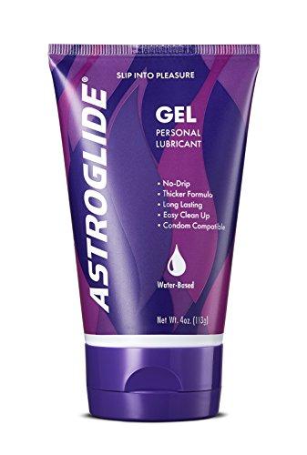 Astroglide Gel - Astroglide Gel, Water Based Personal Lubricant, 4 oz. (Pack of 3)