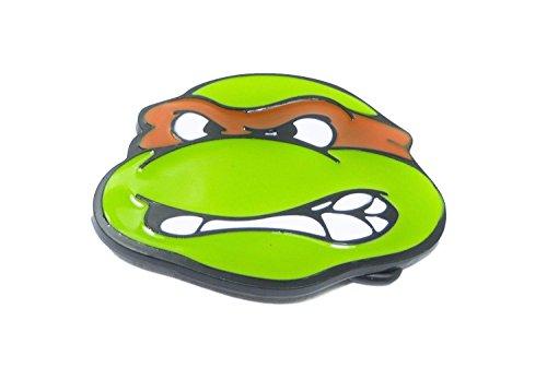 - Teenage Mutant Ninja Turtles Michelangelo Metal Enamel Belt Buckle