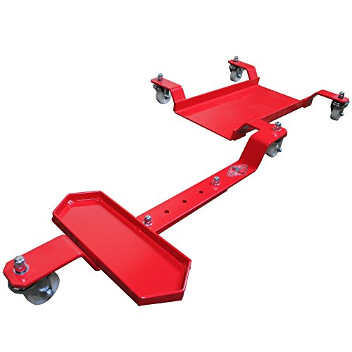 Big Horn Motorcycle Dolly | Generation 2 Low Profile Design | 1250 LBS Capacity | Adjustable For Sports Bikes Or Cruisers by Big Horn (Image #2)
