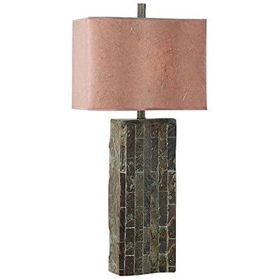 Kenroy Home 30894SL Ripple Table Lamp