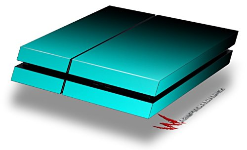 Smooth Fades Neon Teal Black – Decal Style Skin fits original PS4 Gaming Console