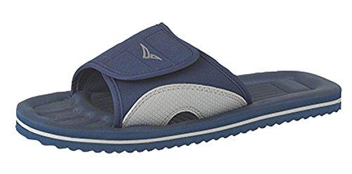 Para hombre Mule Flip Flop sandalias de playa de Surfer Azul