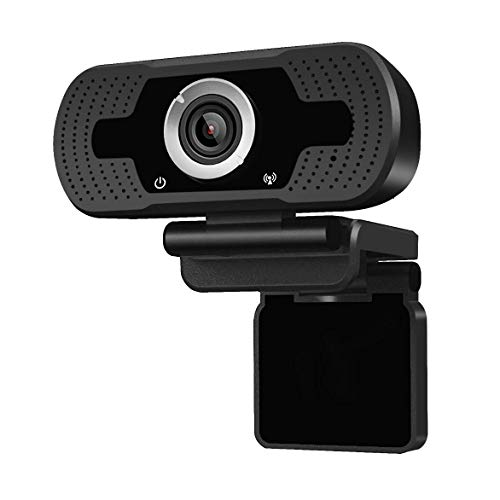 (Anivia 1080p HD Webcam W8, USB Desktop Laptop Camera, Mini Plug and Play Video Calling Computer Camera, Built-in Mic, Flexible Rotatable Clip)