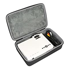 Hard Travel Case for RAGU Z400 1600 Lumens Mini Portable Projector Home Entertainment Video Projector Movie Theater LED Multimedia Projector Support HD 1080P by co2CREA