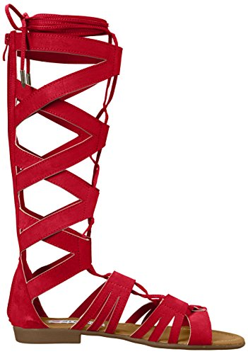 2 Lips Too Women's Sammi Dress Sandal Red 2PvFl