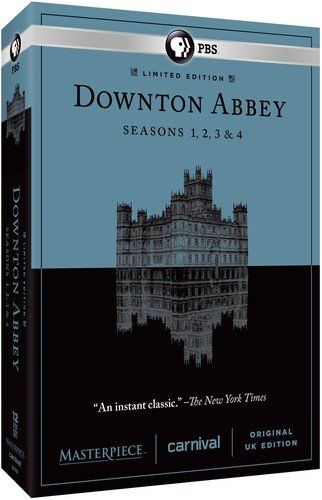 Masterpiece: Downton Abbey Seasons 1, 2, 3, 4 by PBS