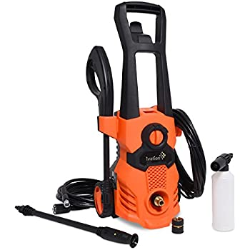 Amazon Com Ivation Electric Pressure Washer 1520 Psi 1