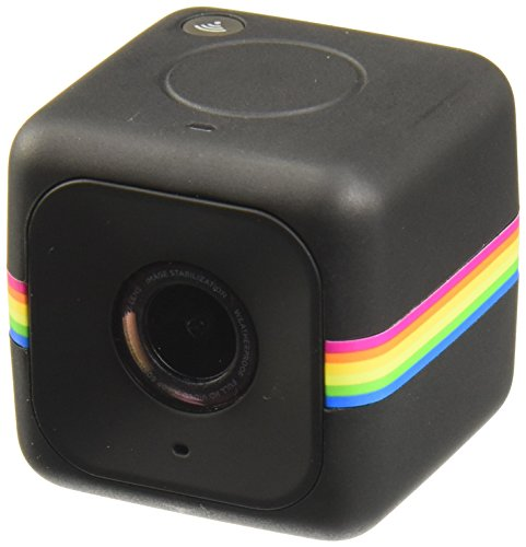 Polaroid Cube+ LIVE STREAMING 1440p Mini Lifestyle Action Camera with Wi-Fi & Image Stabilization
