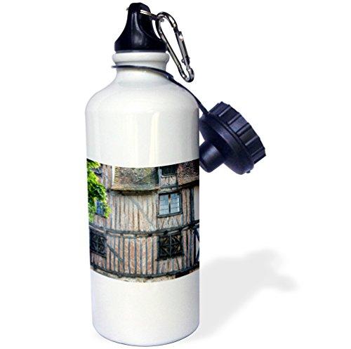 Bordeaux Half Bottle - Danita Delimont - France - Homes are in the Place de la Myrpe, old town of Bergerac. - 21 oz Sports Water Bottle (wb_227312_1)