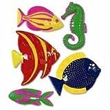 Plastic Fish Party Accessory (1 count) (5/Pkg)