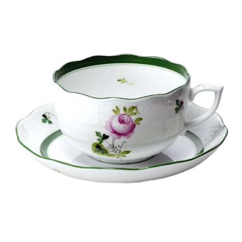 (Herend (HEREND) VRH Vienna rose tea cup and saucer [ parallel import goods ] 724 )