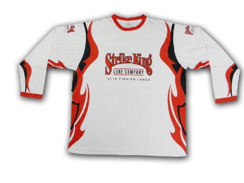 Strike King Long Sleeve Official Tournament Jersey, XX-Large, Outdoor Stuffs