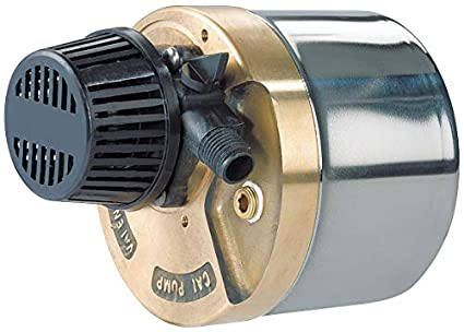 Pump, Submersible, SS/Bronze, 1/30 HP, 115V: Industrial