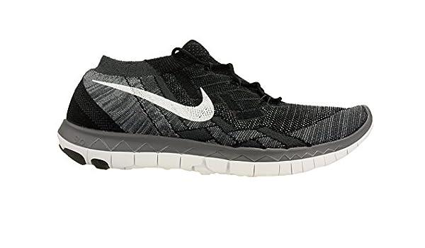 NIKE Free 3.0 Flyknit Zapatillas de Running, Hombre, Negro, 47 1/2: Amazon.es: Deportes y aire libre