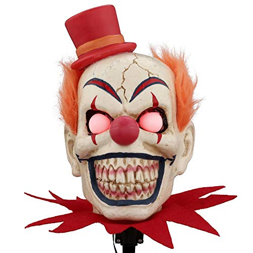 Scary Clown Halloween Lawn Stakes Pathway Markers 18