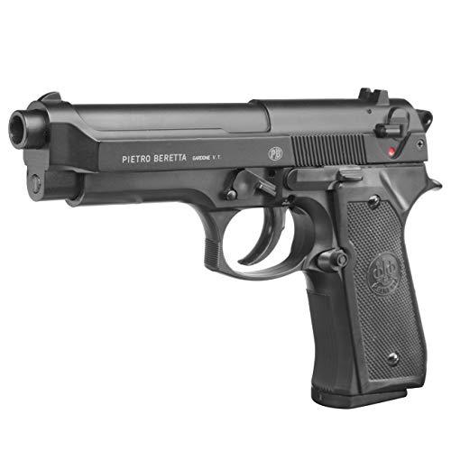 Beretta M92 FS Noir HME Culasse Métal Spring 0.5J Adulte Unisexe, Taille Unique 1