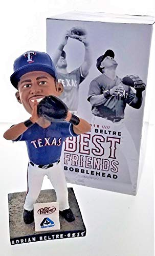 Adrian Beltre Best Friends 2018 Texas Rangers Stadium Promo Bobblehead SGA