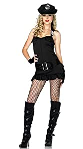 Gorgeous Bar mounted policewoman costume game dress Europe navy uniforms uniforms temptation role-playing female police service